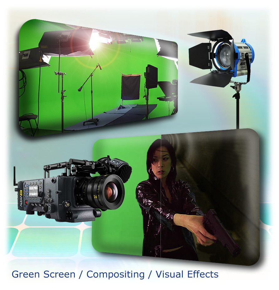 Virtual backgrounds, visual effects, compositing